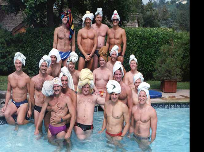 Gay pioneers in the pool