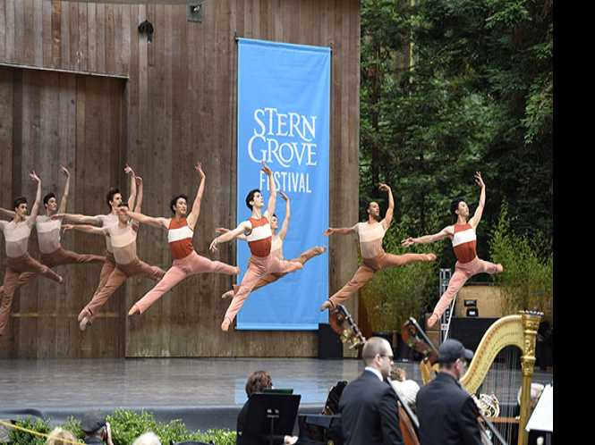 SF Ballet brings joy to the fog belt