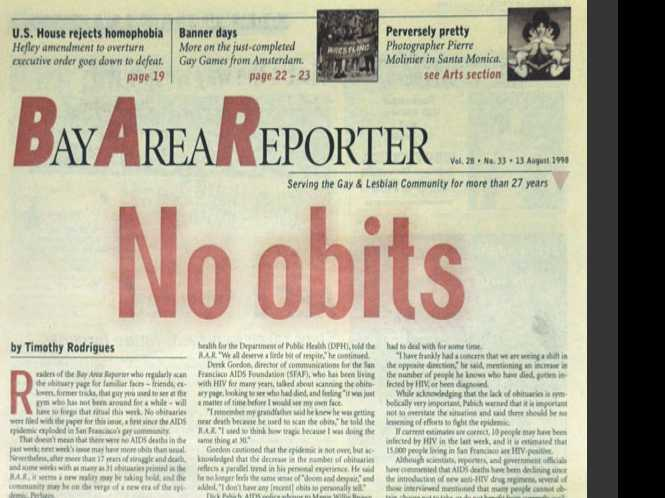 Guest Opinion: B.A.R.'s 'No obits' turns 20