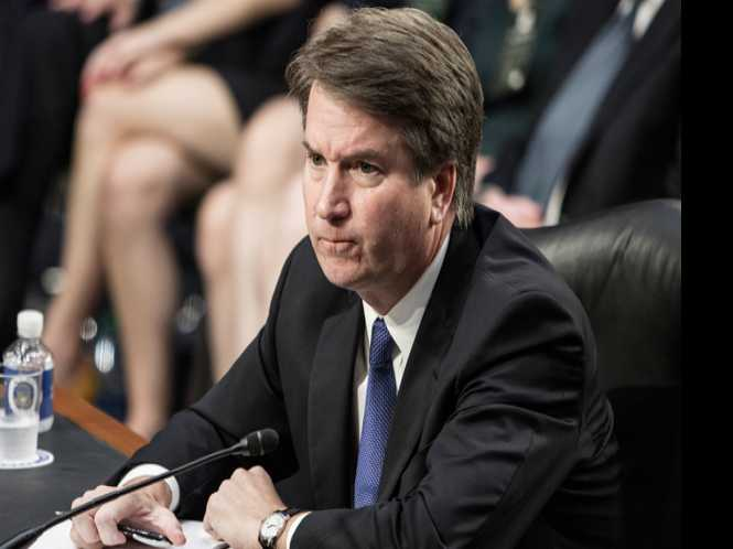Chaos surrounds Kavanaugh at confirmation hearing