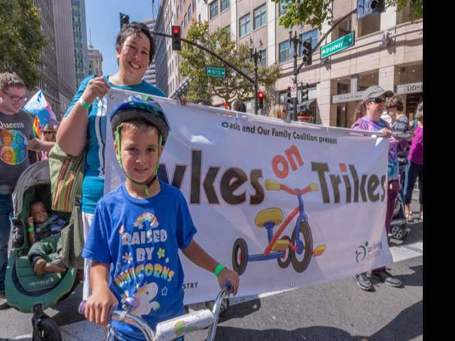 Kids rule at Oakland Pride