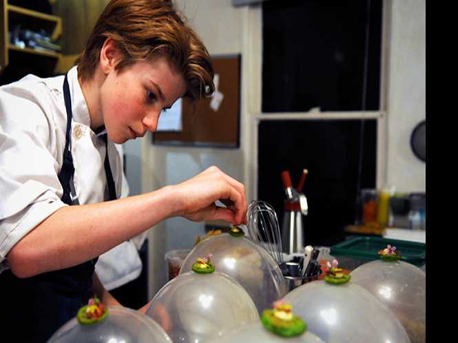 Teenage chefdom