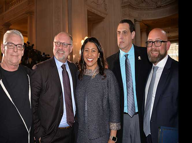 City Hall recalls Milk, Moscone