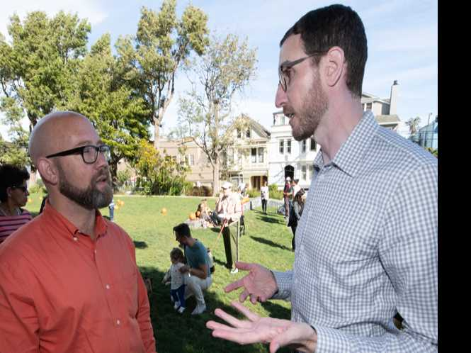 Political Notebook: Wiener, Mandelman bromance brews