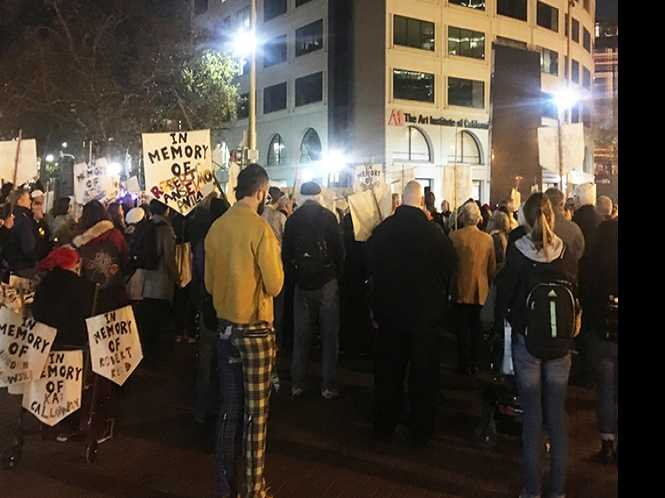 Commentary: Resist: Vigil shows SF's broken policy