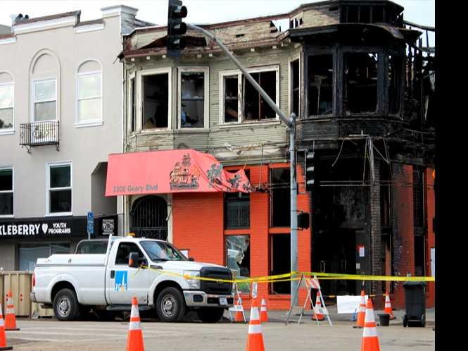 Nonprofits work to recover from SF fire