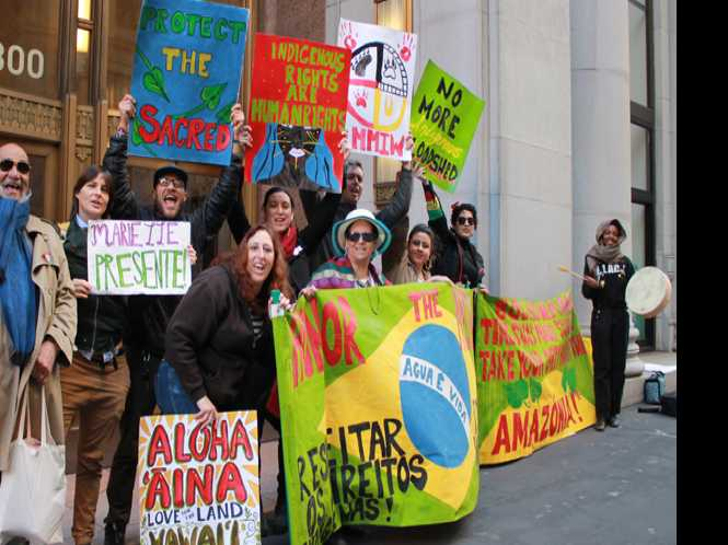 SF protest honors slain bi Brazilian congresswoman