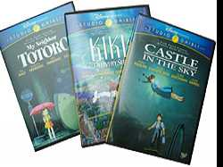 Miyazaki Special Editions :: Castle In The Sky, Kiki's Delivery Service, and My Neighbor Totoro