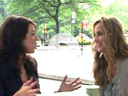 Backstage with Chely Wright