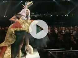 Lady Gaga's Meat Dress, Lohan's Cameo at VMAs