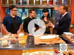 Southern baking with actress Pauley Perrette