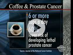 Coffee Linked to Lower Risk of Prostate Cancer