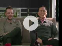 Trending Now talk with Chris Hardwick and George Takei