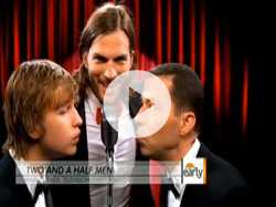 Ashton Kutcher on 'Two and a Half Men' Debut