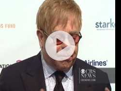 Elton John Talks Hope for AIDS Cure