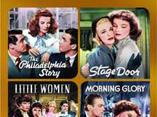 TCM Greatest Classic Films Collection :: Katharine Hepburn
