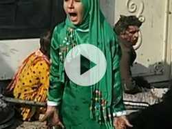Photo of Afghan Girl Imitates Art