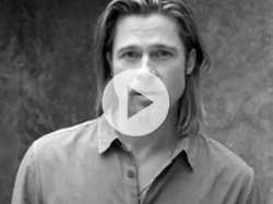 Brad Pitt is First Man to Front Chanel No. 5