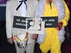 Chick-fil-a-Themed Halloween Party Eggs Franchise :: October 27, 2012