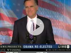 Mitt Romney's Concession Speech