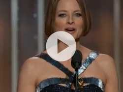 Watch: Jodie Foster Reveals Big Secret at Golden Globes