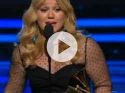 Grammy Awards 2013: Kelly Clarkson's Acceptance Speech