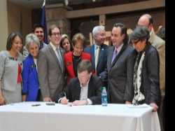 Governor's Signature Legalizes Civil Unions in Colorado