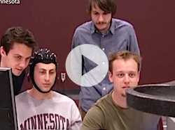 Univ. of Minn. Develops Mind-Controlled Flying Robot