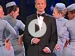 Tonys 2013: Host Neil Patrick Harris at Final Rehearsals