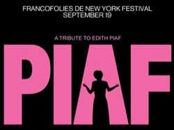 Francofolies: An Edith Piaf Tribute