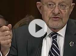 Intel. Chief: Shutdown Threatens National Security