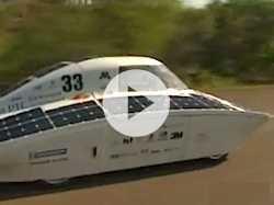 Advanced Solar-Powered Cars Race Through Australia