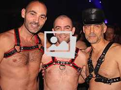 Leather Ball @ Black & Blue 2013