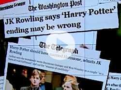J.K. Rowling Changes Her Mind on Harry Potter Ending