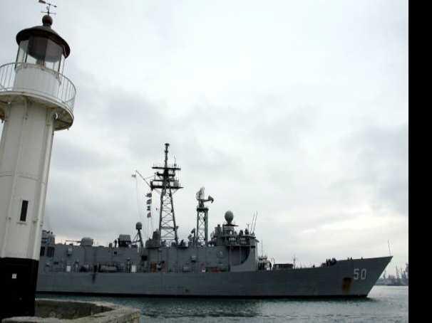 US Warship Deployed Near Sochi Runs Aground