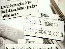 Diet Drink Danger :: Possible Link to Heart Risk, Says Study