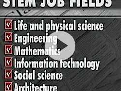Women, Minorities Underrepresented in STEM Fields