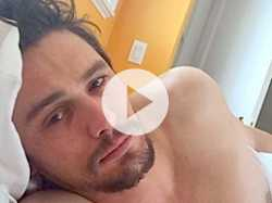 James Franco Talks About His Bedroom Selfies