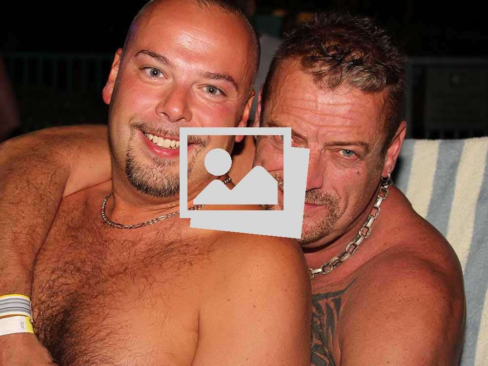 Gay Days 2014 :: Thursday Night Bears Pool Party