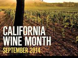 California Wine Month Kicks Off