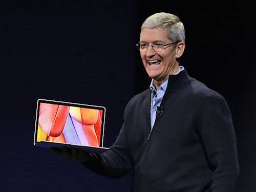 Apple Event Live: Watch, Gold MacBook, HBO on iPhone