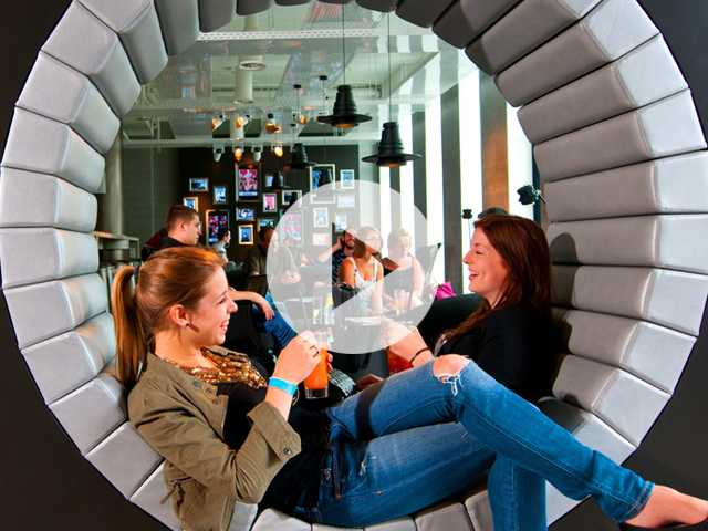 Fashionable Makeovers Turn Hostels into 'Poshtels'
