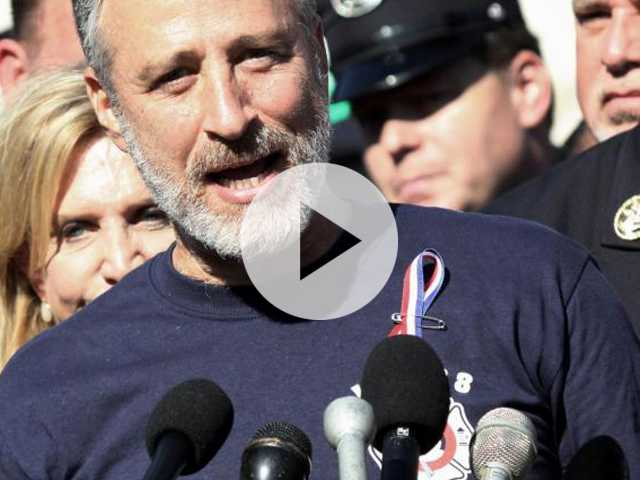 Jon Stewart Lobbies Congress to Extend 9/11 Healthcare Program