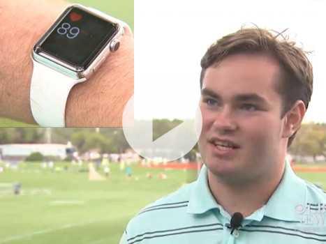 'Apple Watch Saved My Life,' Says Stricken Teen Athlete