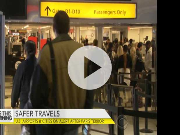 Airports Boost Security for Holidays After Paris Attacks