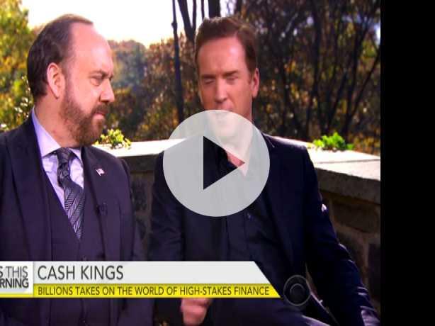 "Damian Lewis and Paul Giamatti on New Drama ""Billions"""