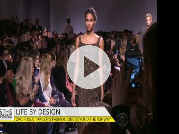 Zac Posen Takes Fashion Line Beyond the Runway