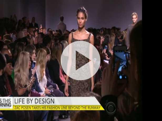 Zac Posen Takes Fashion Line Beyond the Runway