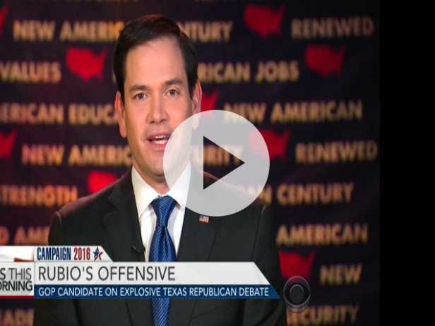 "Rubio on Trump: ""A Con Artist is About to Take Over"" GOP"