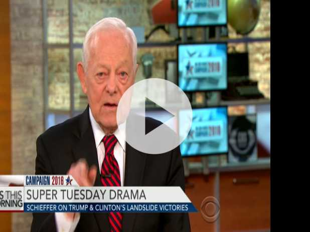 Bob Schieffer: GOP Establishment Going Through Stages of Grief